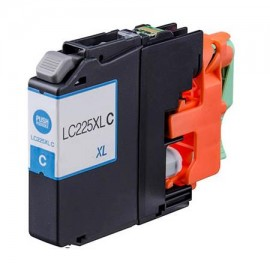 Compatible Ink  BROTHER LC225XL CYAN