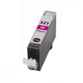 Remanufactured μελάνι Canon CLI-521 Magenta