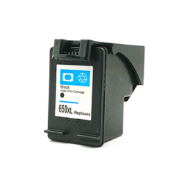 Compatible Ink HP 650 Black (20ml - CZ101AE) 90% Print More