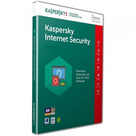Kaspersky Internet Security Multi Device  (3 Devices - 1 Year) - VERSION 2019 - Electronic License