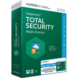 Kaspersky Total Security  (1 Licence-1 Year) - VERSION 2019 - Electronic License