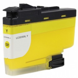 Compatible Ink Brother  LC3235xl  Yellow