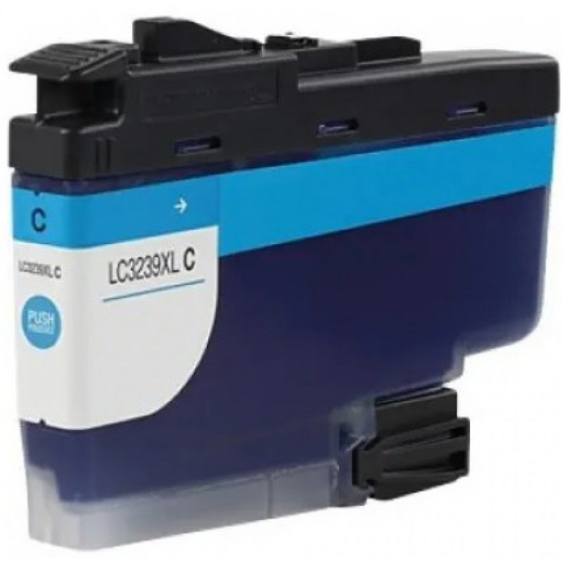 Compatible Ink Brother  LC3239xl  Cyan