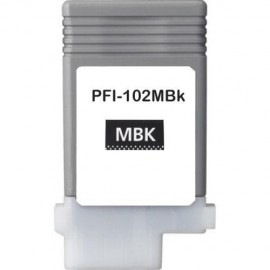 Compatible Ink Canon PFI-102MBK Matte Black