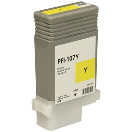 Compatible Ink Canon PFI-107Y Yellow