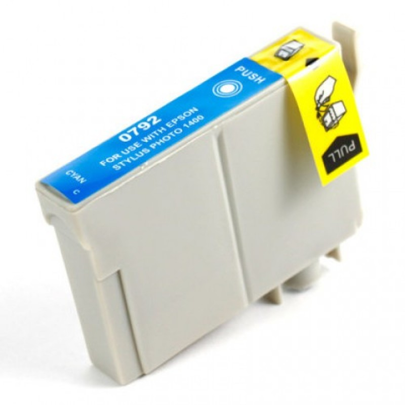 Compatible Ink EPSON T0792 Cyan