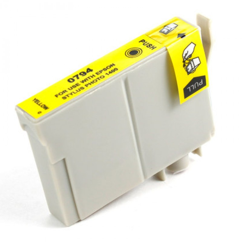 Compatible Ink EPSON T0794 Yellow