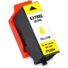 Compatible Ink  EPSON 378XL  C13T37944010  - T3794 Yellow