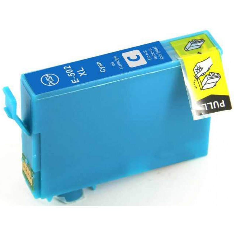 Compatible Ink EPSON T502XL, C13T02W24010, CYAN