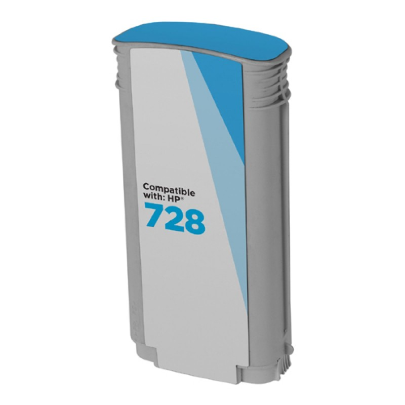 Compatible ink  HP 728 Cyan  (F9K17A)