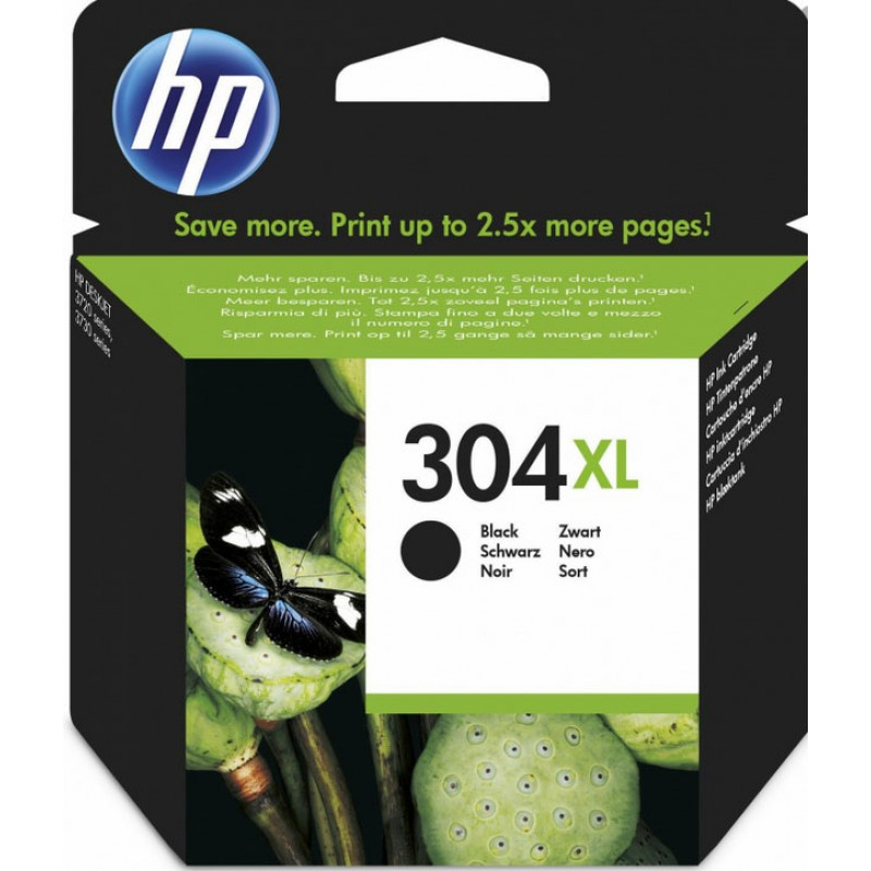 Original Ink HP 304XL N9K08AE black