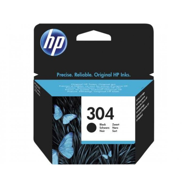 Original Ink HP 304 N9K06AE black