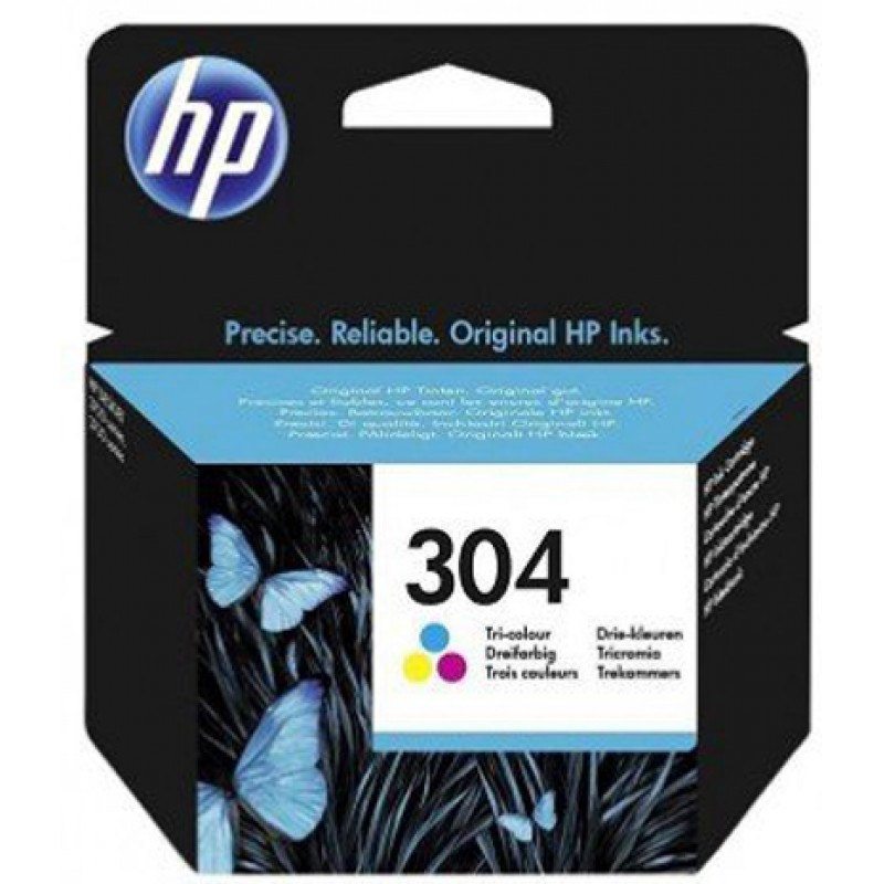 Original Ink HP 304 N9K05AE Color