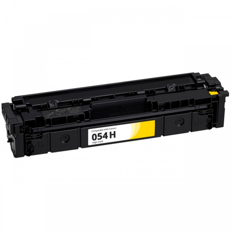 Compatible toner Canon 054H Yellow 3025C002