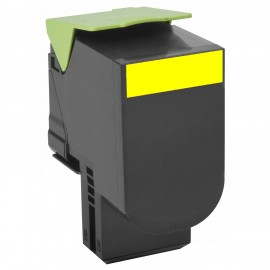Compatible Toner Lexmark CS317/CS417/CS517 71B20Y0 Yellow 2.3K