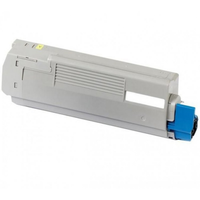 Compatible toner Oki C612n 46507505 Yellow