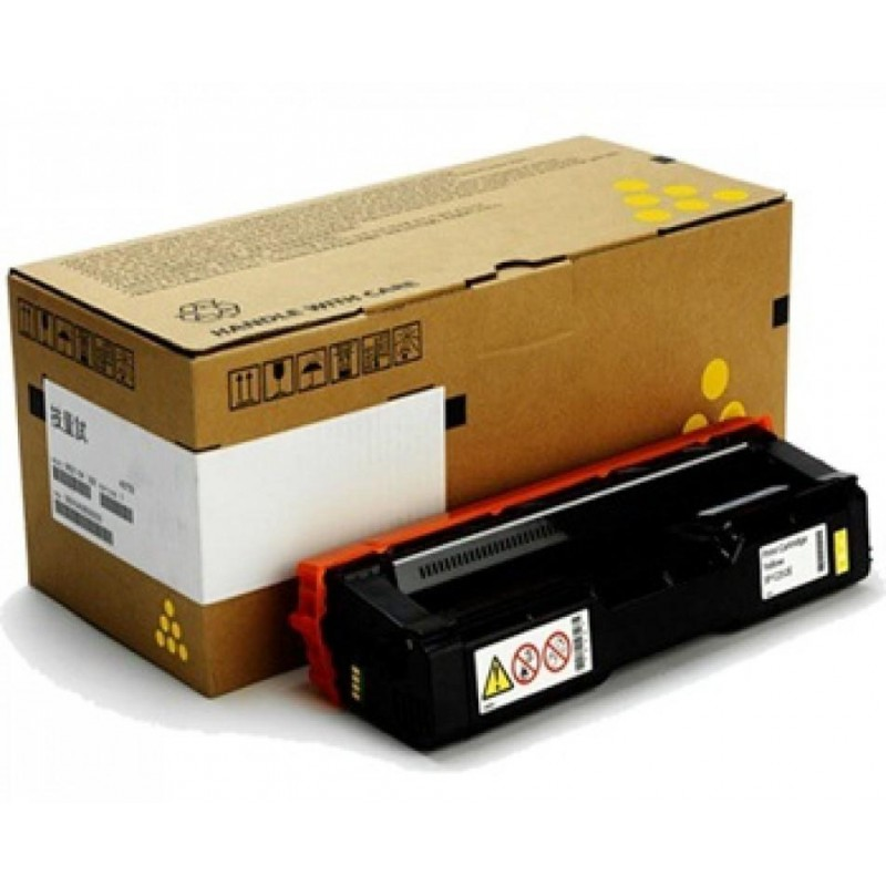 Compatible toner Ricoh SP C252 , 407727, Yellow