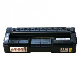 Compatible toner Ricoh SP C250 , 407546, YELLOW